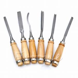 New 12Pcs Wood Carving Hand Chisel Tool Set Woodworking