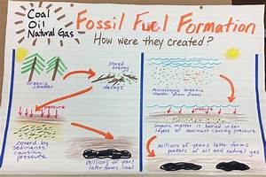 How Are Fossil Fuels Formed Diagram