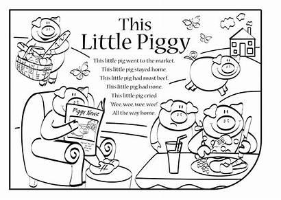 Piggy Rhyme Nursery Lyrics Rhymes Songs Crafts