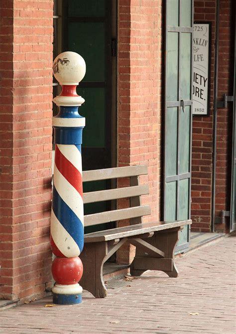 barber pole columbia ca photograph  troy montemayor