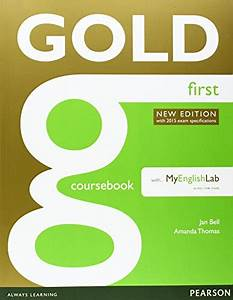 9781408297926  Gold First New Edition Coursebook With Fce