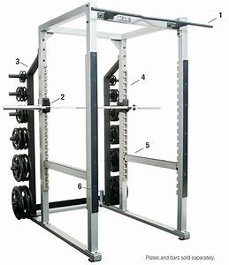 York St Commercial Power Rack Cage 55006  U2013 New And Used
