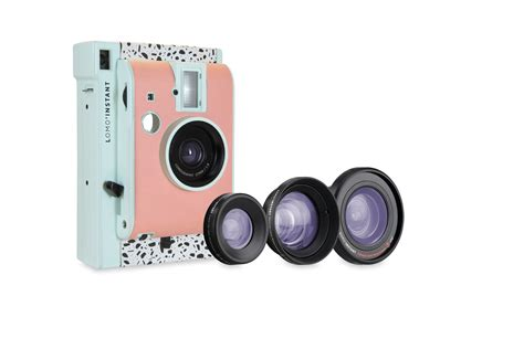 with instant photo lomo instant and lenses edition