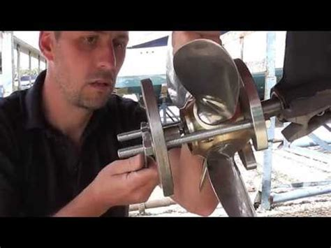 How To Remove A Boat Propeller by Using A Prop Puller To Remove A Featherstream Propeller