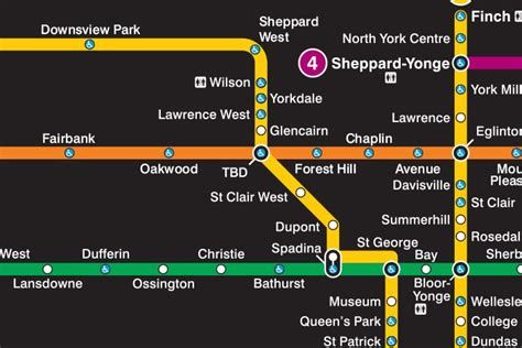 Here's What The New Ttc Map Is Going To Look Like
