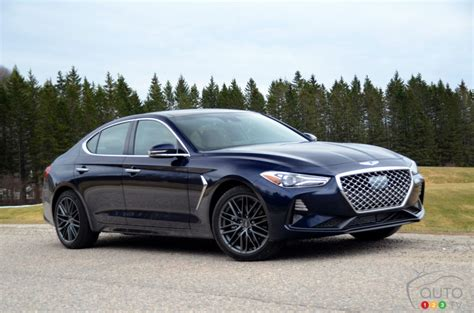 The Best Cars 2019 : Our First Drive Of The 2019 Genesis G70