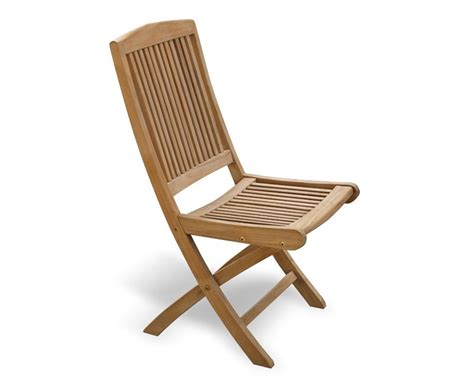 rimini teak outdoor folding chair