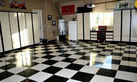 tile flooring for garage the benefits of porcelain garage floor tile all garage floors