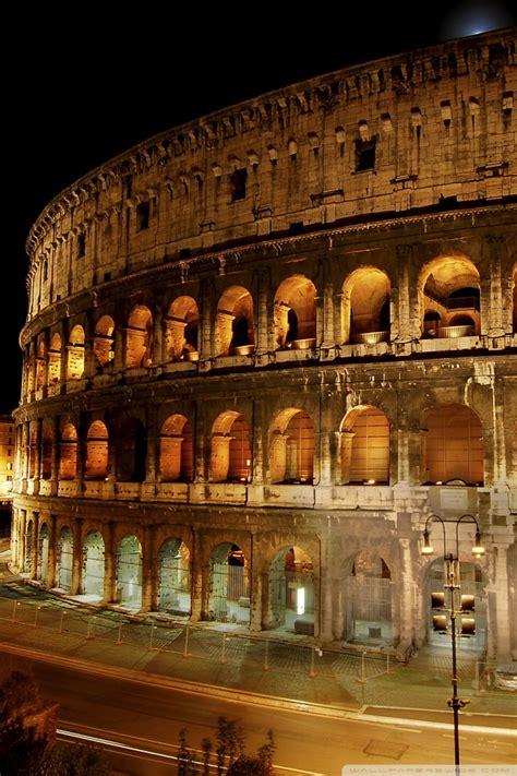 amphitheatre  rome italy  hd desktop wallpaper