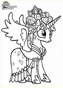 little princess coloring pages - my little pony coloring pages princess cadence printable