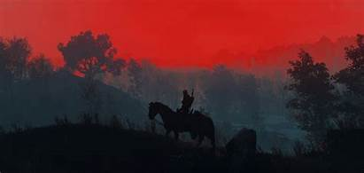 Witcher Geralt Silhouette Wallpapers 1440p Resolution 1080p