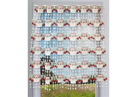 rideau macramé cuisine rideaux macramé cantonnière en bande rideaux de