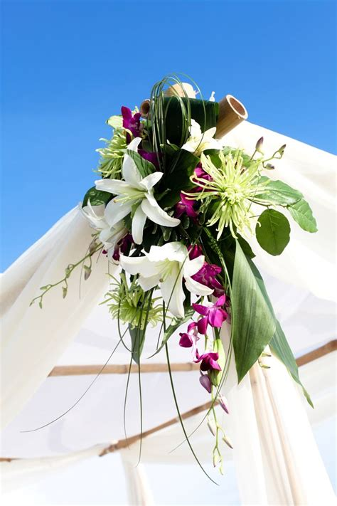 1000 Ideas About Bamboo Wedding Arch On Pinterest