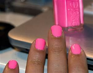Neon Pink Nail Polish Essie