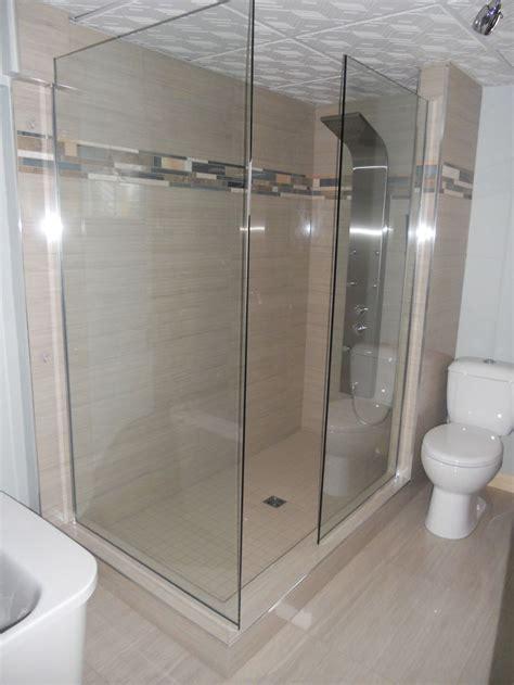 0101 am233nagement salle de bains douche walk in