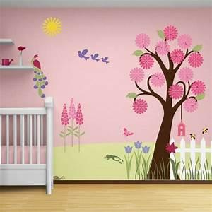 Decoration Murale Chambre Enfant : d co mur chambre b b 50 id es charmantes ~ Teatrodelosmanantiales.com Idées de Décoration