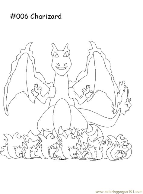 charizard coloring page  pokemon coloring pages