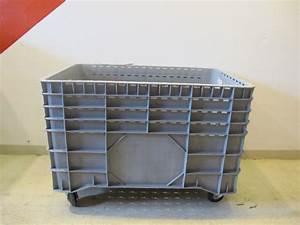 Box Mit Rollen : big box logistik box transport box box grau mit rollen transportbox mit rollen ebay ~ Markanthonyermac.com Haus und Dekorationen