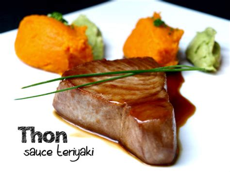 cuisiner steak de thon steak de thon sauce teriyaki cookismo recettes saines