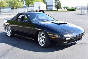 Jdm Japan Imported 1990 Mazda Rx7 Convertible Turbo 5sp