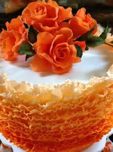 white cake stands stunning frilled wedding cake florabunda