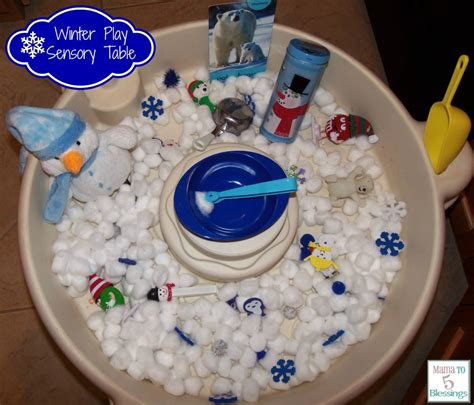winter theme play table learn amp link with linky 222 | winter table sensory 1024x875
