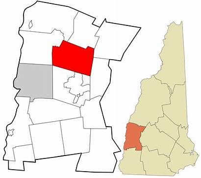 Unincorporated Sullivan Hampshire County Croydon Incorporated Highlighted
