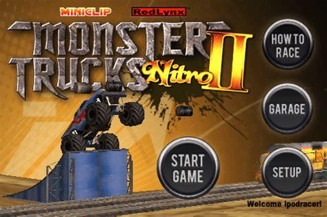 miniclip monster truck nitro monster trucks nitro ii simultaneously launches online at