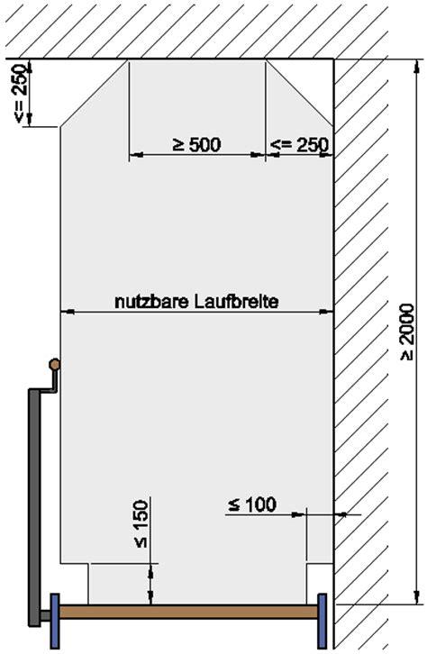 Din 18065 Vorschriften Zum Treppenbau by Baurechtlich Notwendige Treppe Treppenlaufbreite Treppen