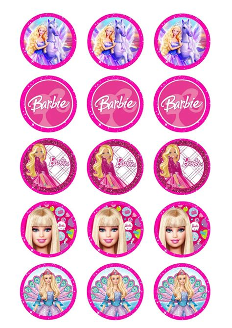 barbie edible image cake toppers sugarbug edible images