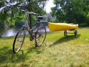Bike and Kayak Trailer