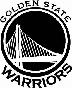 Golden state warriors nba team logo vinyl decal sticker for Kitchen colors with white cabinets with golden state warriors stickers