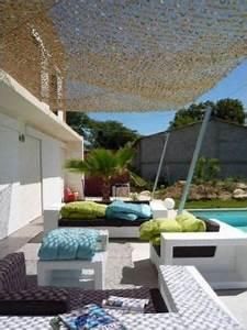 Filet Camouflage Pour Terrasse : filet camouflage en pare soleil jardin pinterest ~ Dailycaller-alerts.com Idées de Décoration