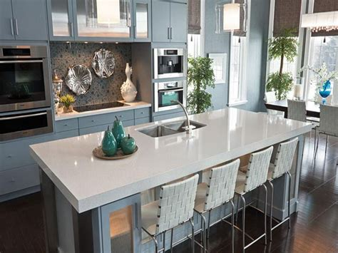 Creating your own countertops may seem intimidating — but we've rounded up 10 stylish diy ideas that demystify the process. Charming White Granite Countertops for Elegant Kitchen ...