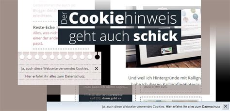 der cookie hinweis ohne plugin ohne externes javascript