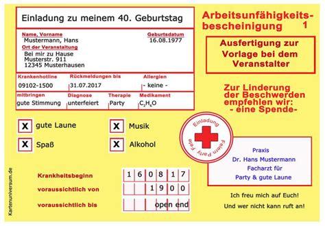 witzig lustig originell einladungskarten zum geburtstag