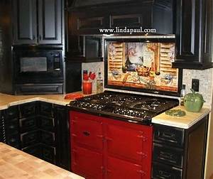 louisiana kitchen backsplash ideas and designs With kitchen cabinets lowes with new orleans themed wall art