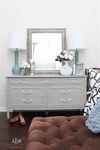 Simple Chalk Furniture Paint Dresser Tutorial With Just A
