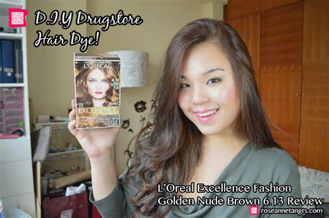 Diy Drugstore Hair Dye Review & Tutorial! L'oreal Fashion