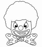Clown Colorare Coloring Pagliacci Clowns Disegni Pagliaccio Klaun Printable Colouring Pianetabambini Template Cyrku Carnevale Stampare Maschere Bambini Basteln Fasching Sagoma sketch template