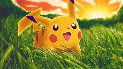 Pikachu Background Desktop Wallpapers Mobile Iphone Android