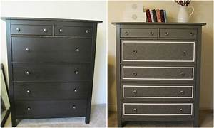 Ikea Hemnes Hack : ikea hemnes revamped with wallpaper chalk paint pinterest ~ Indierocktalk.com Haus und Dekorationen