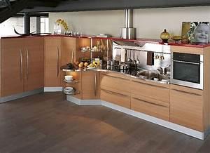 Günstige Küchen L Form : holzk che in l form ~ Bigdaddyawards.com Haus und Dekorationen