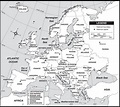 Full Printable Detailed Map of Europe with Cities In PDF ...
