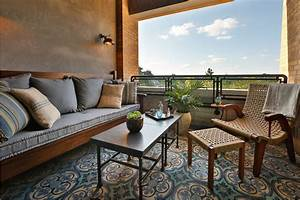 Four, Amazing, Small, Terrace, Design, Ideas