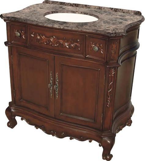furniture style bathroom vanity  mahogany