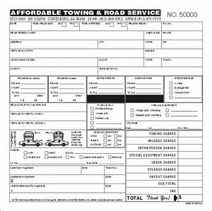 towing invoice template free invoice With free towing invoice