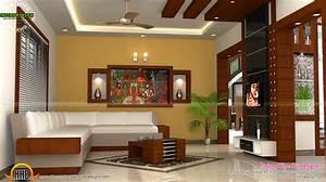 Kerala, Interior, Design, With, Cost