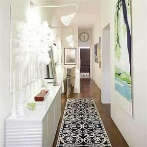 25 wohnideen fur flur modern und geschmackvoll for Balkon teppich mit tapeten flur diele