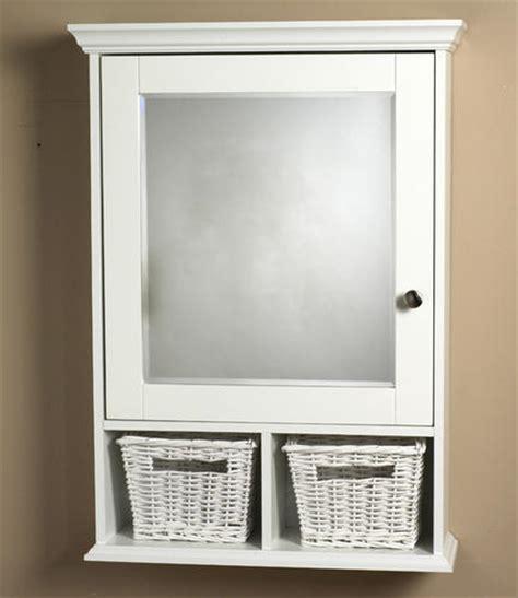 Menards White Medicine Cabinet by Zenith White Wood Medicine Cabinet With Baskets At Menards 174
